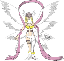Angewomon by Louisetheanimator