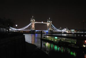 Tower Bridge at Night by Bendeavour