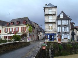 French town by HotAnimeChick