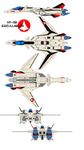 VF-19 Excalibur alpha one by bagera3005