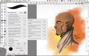 Shading Brush - Sketchbook Pro by Jane2Audron