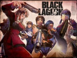Black lagoon Ladies by ReikoMishima