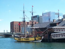 Boston Tea Party Ships 1 by uglygosling