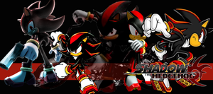 Shadow the Hedgehog Wallpaper by Wicked-Wallpapers