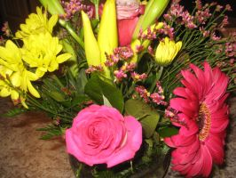 My Honors Night Flowers 2 by Artistic-Resonance