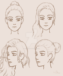 Face proportions (extended) by Leilani-kitty