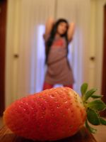 Strawberry time by Angiepureheart