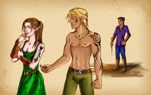 Rinna and Zevran by Marinelli