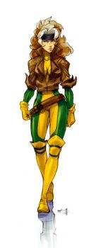 rogue color sketch by Gingashi