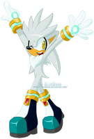 .:Silver the Hedgehog:. by BlueBead