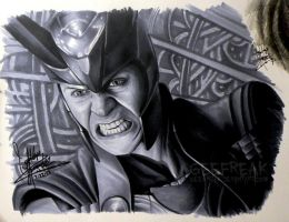 Tom Hiddleston 3: Loki by GeeFreak