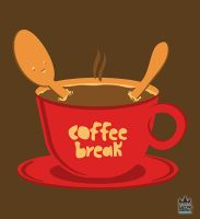 Coffee Break design by cosmicsoda