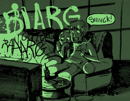 Zombie flicks by Cabycab