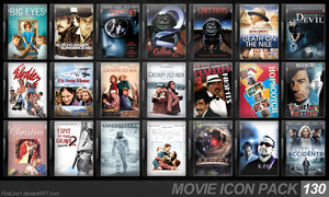 Movie Icon Pack 130 by FirstLine1
