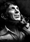 Leonard Nimoy -- Good bye, Mr. Spock! by Thubakabra