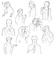 Humanized TEF characters by Munkell