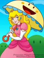 Princess Peach Art Trade by Welchtect