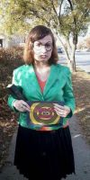 Daria Morgendorffer Costume Cosplay by queencolondarkwing