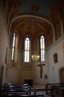 Chapel interior by Very-Free-Stock