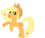 Rearing AppleJack by Demyxthemusican