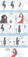 Lol Jesus in naruto world pt1 by Kibbitzer