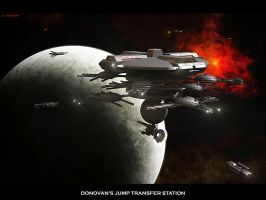 Donovans Jump Transfer Station by ILJackson