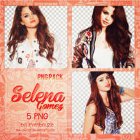 PNG Pack #003: Selena Gomez by the-pierce