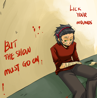 :CAA: The show must go on by Zackypenguin