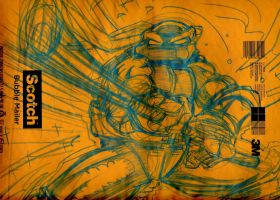 TMNT FREE GIFT DON SKETCH by U-D0NT-KN0W-ME