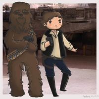 Han and Chewy by Kyokaiba