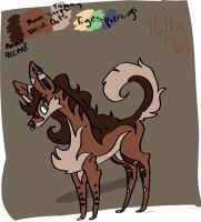 Holly-New-design by sillykitten33