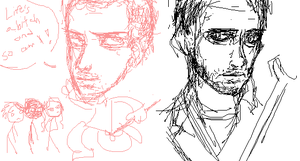 House MD Sketchies by DannyPhantomFreek