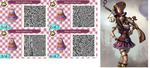 QR ACNL : Caitlyn (League of Legends) by AngelThea