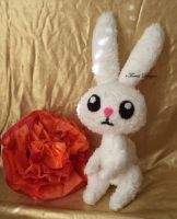 Angel Bunny Plush My Little Pony FIM Custom OOAK by TorresDesigns