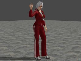 DOA5U Christie School costume by zareef