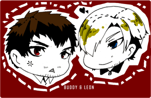 Buddy And Leon by yukaerin