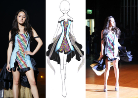 Spectrum fashion design by Zungie