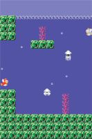SMB Sea iPhone Wallpaper by cow41087