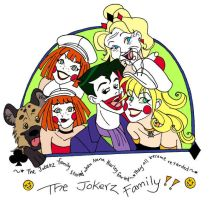 The Jokerz Family by insectikette