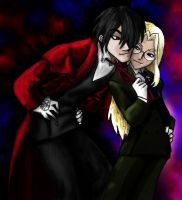 Alucard and Integral by jameson9101322