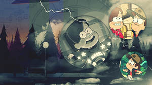 Wallpaper: Gravity Falls by MadBlackie