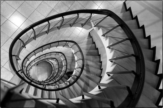 Spiralstaircases explore spiralstaircases on deviantart for Pre made spiral staircase