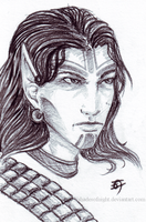 Kivan portrait by ShadesofNight