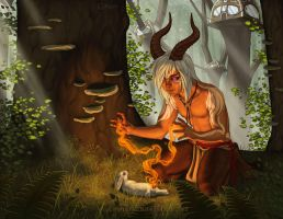 Forest Healer by Shadow-Wolf