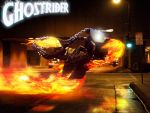 Riding with his head on FIRE by thedarkcloak