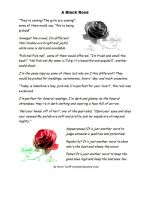 The Black Rose by Crustech