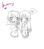 Kenny request WIP by srcpcsoha