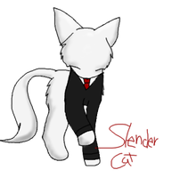 Slender Cat by Sia-Kitty
