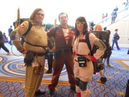 Katsucon 2012: Ghostbusters by LusheetaLaputa
