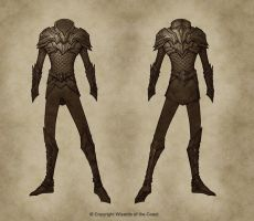 Male Serpentine Warrior by Concept-Art-House